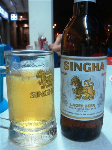 All these food goes best with Singha Beer!