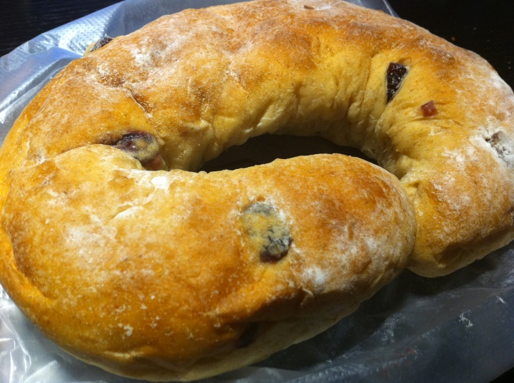 Another cheese bread with loads of cream cheese inside... TWD70