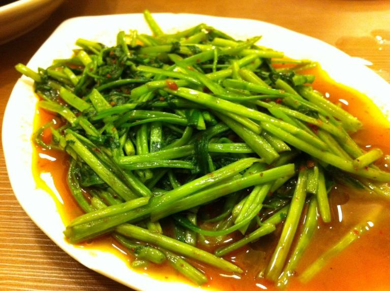 Sambal Kangkong - Sambal not enough... but the taste is there