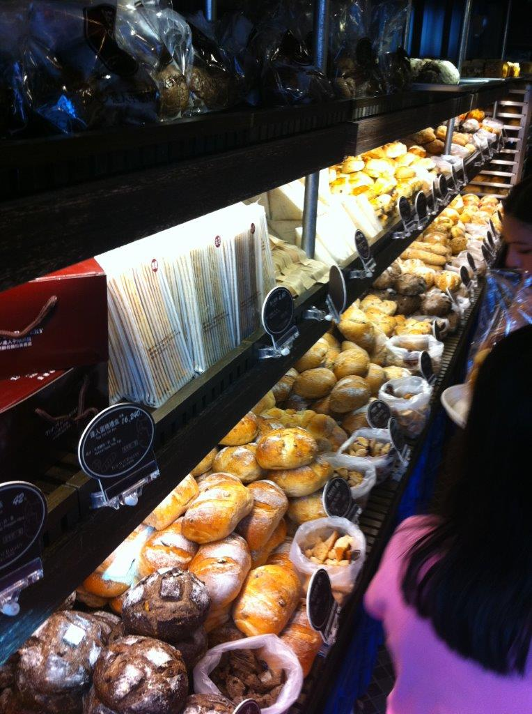 Check out their range of breads! Yum!