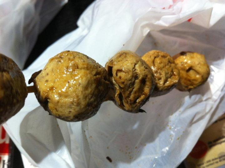 Mushroom Balls.... Very Q and tasty!