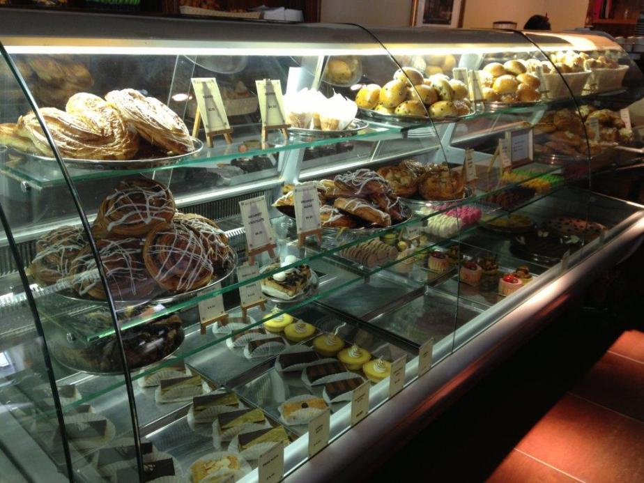 Look at all the pastries!