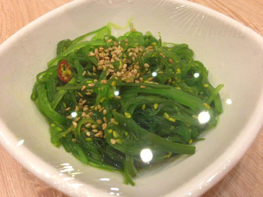 This kelp is really nice and tasty RMB8