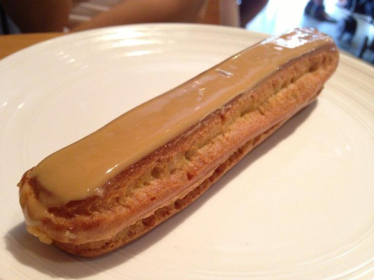Their famous coffee eclair