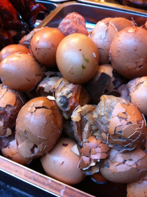China's answer to balot... Chicks inside the eggs... not duckings...