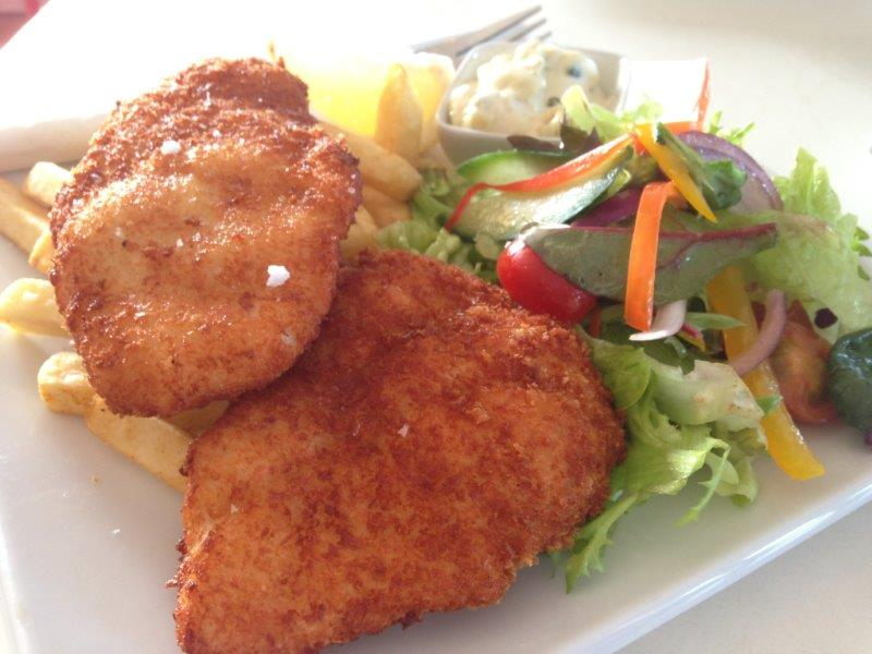 Crumbled Local Fish & Chips. Nice and flaky. - AUD20.50