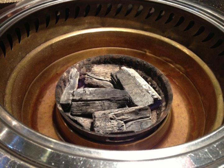 Using real charcoal for BBQ