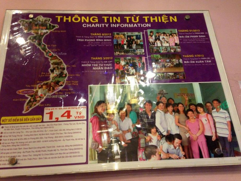 Com Tam Moc does a lot of charity to help the less fortunate... Just like Care Givers Group! (caregiversgroup.org)