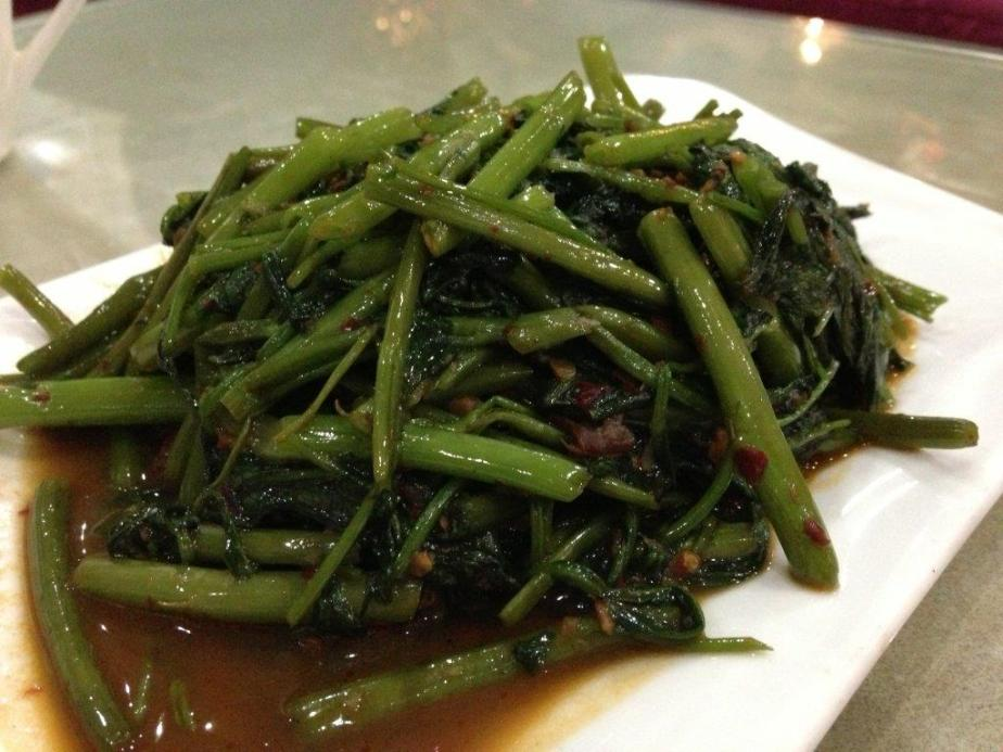 Sambal Kangkong is not bad, the sambal chilli is nice.