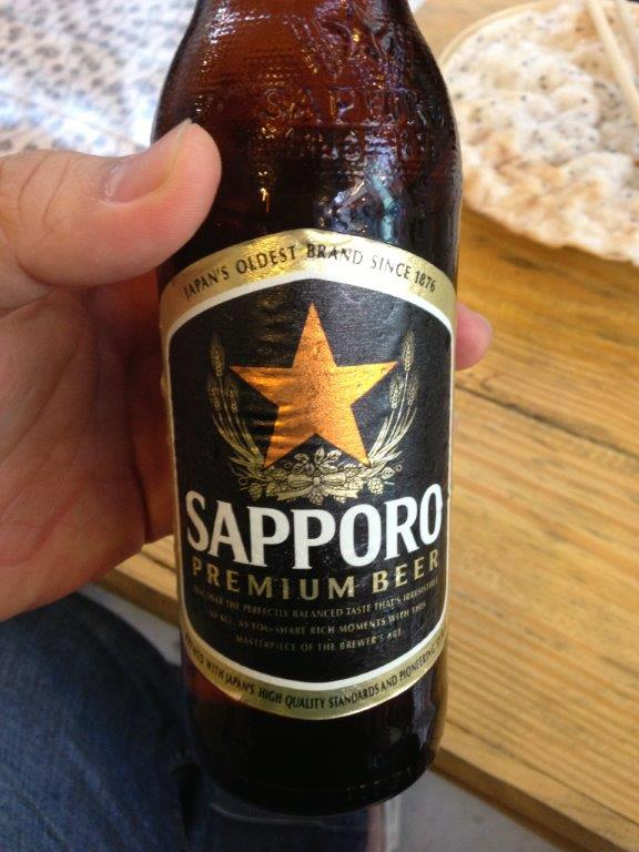 My choice of beer