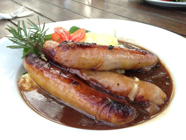 Sausage & Mash Potato