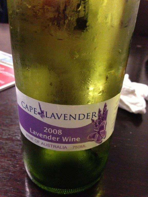 Bev has Lavender wines also. Check with her if she has more supplies! :)