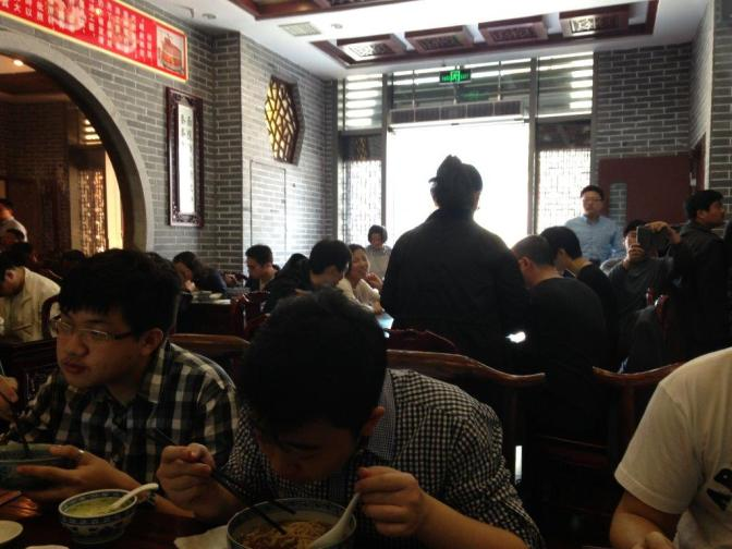 Can get very crowded during weekends and lunch hours.