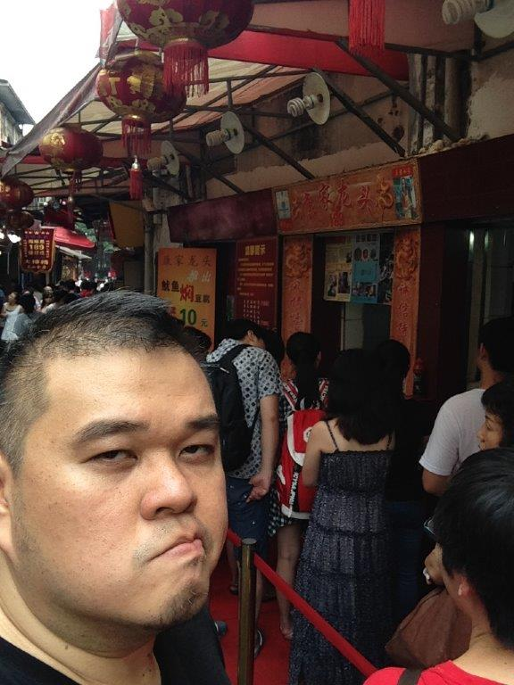Super long queue...