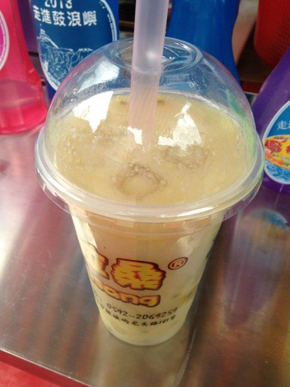 Passionfruit (In season Sept-Oct)  with Guava juice. RMB13