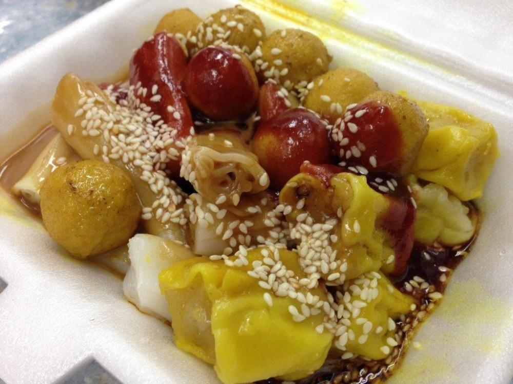 Cheong Fun with Siew Mai & Curry Fishballs