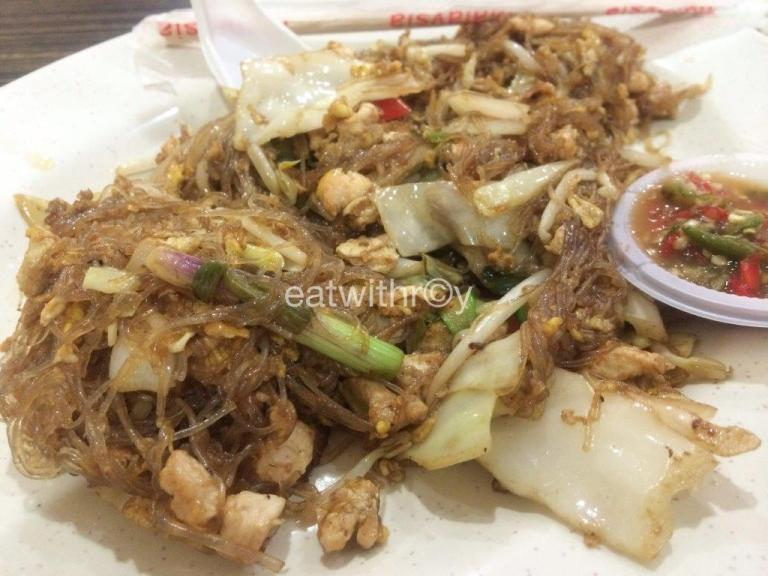 Fried Rice Vermicelli RM$10.90 ($4.40) - Pretty good, love the wok hei and  taste. But the portion is really little.