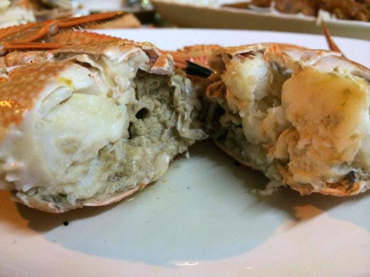 Sample crab's flesh is a little too watery. Not suitable for BBQ and have feedbacked to the owner to stick to his usual crabs.