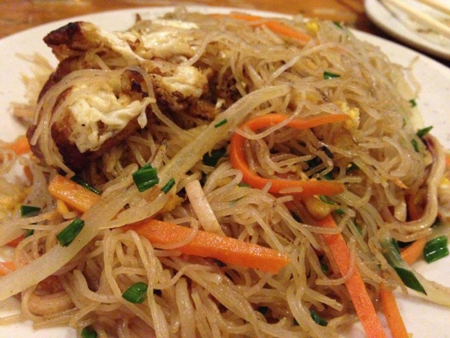 Fried Beehoon with cuttlefish strips. This one is a must order. Very tasty!