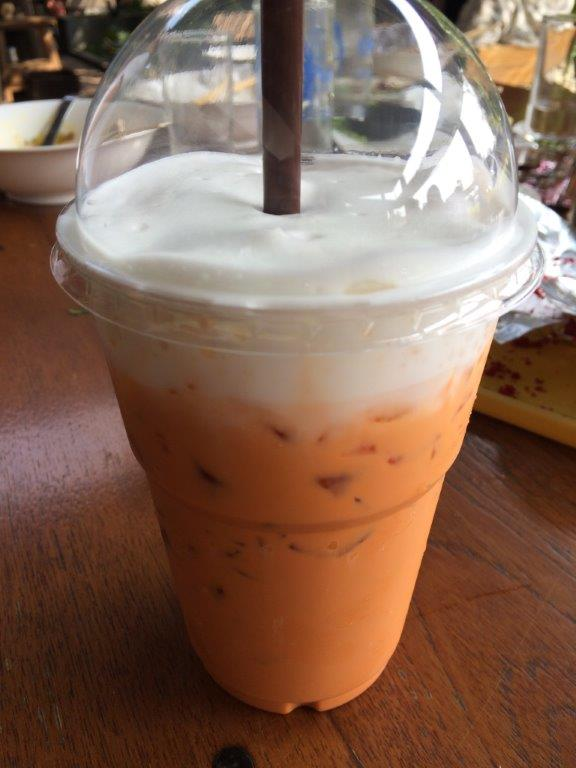 Iced Thai Milk Tea - Pretty good but waited for ages and asked for no sugar, came fully loaded with it.
