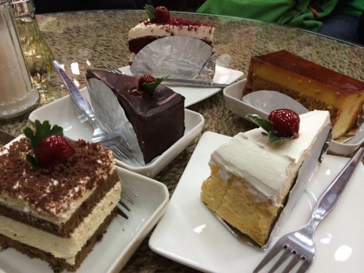 Our cakes' selection