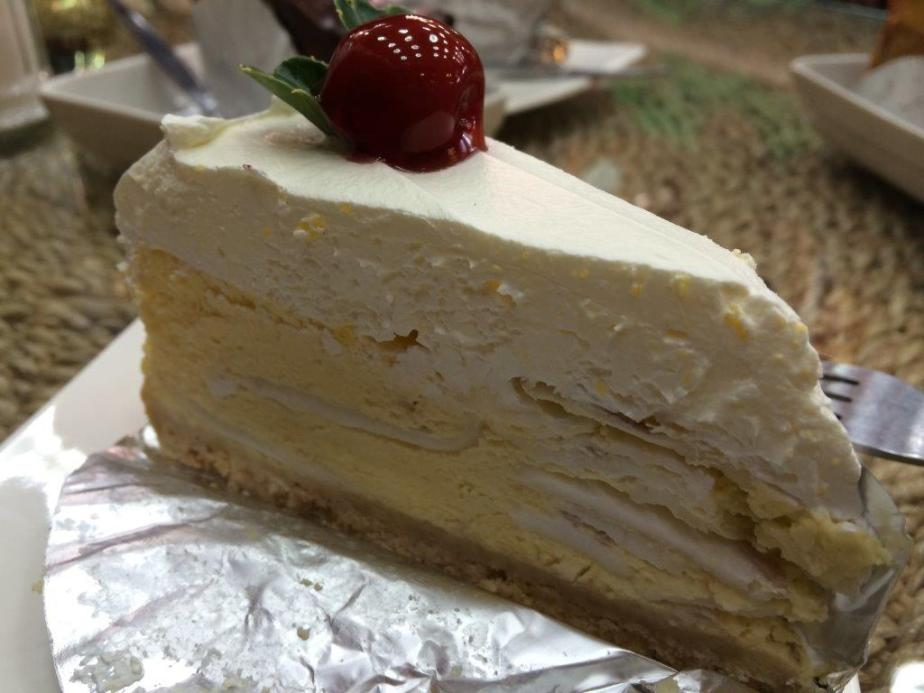 Coconut Cake - the most talked about... so so only, tasted better