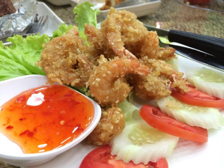 Fried prawns - So so taste