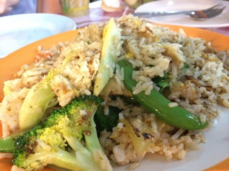 Fried rice... Thai fried rice are usually very nice
