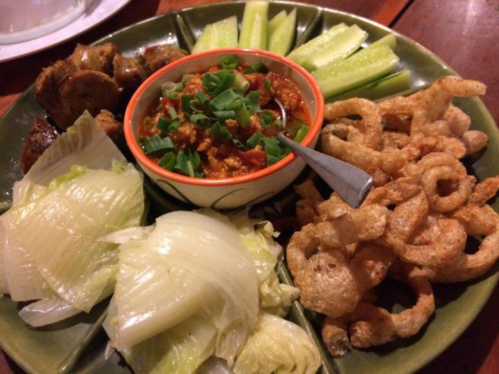 Nothing special, the best is probably the chilli paste in the middle. Without that, the rest are tasteless.