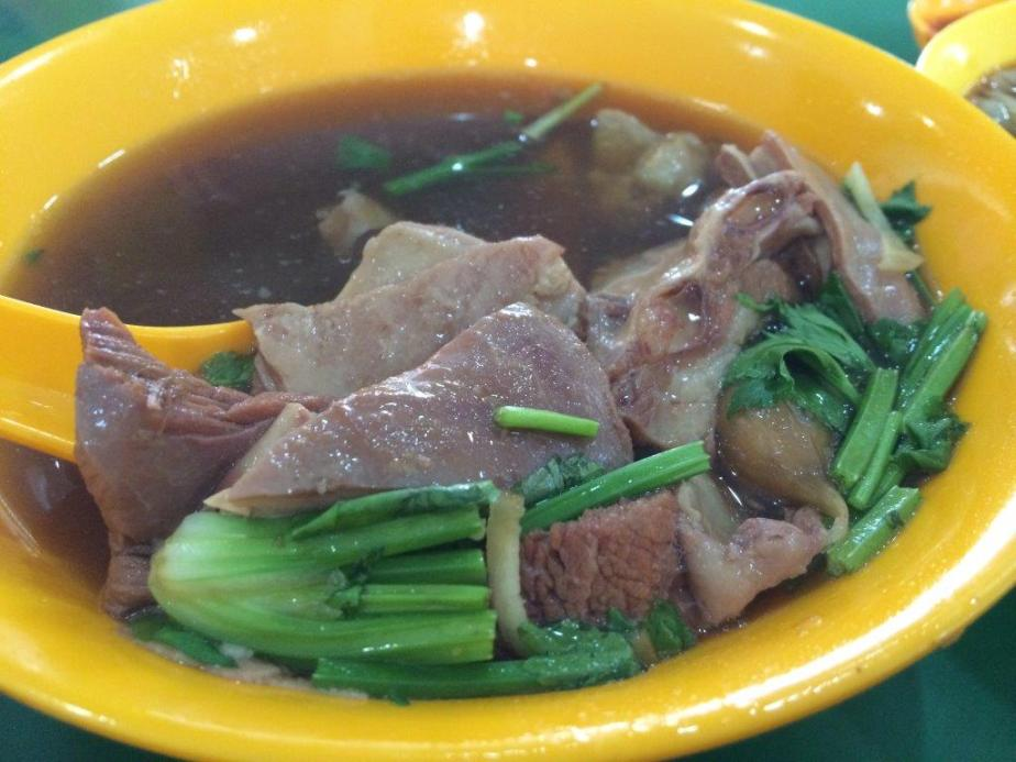 Mutton Soup - Nice, rich good portion of ingredients as well