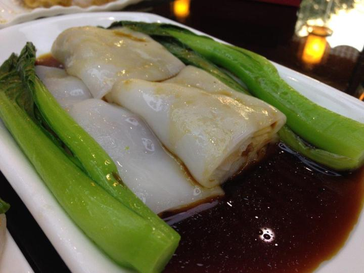 Same rice rolls with char siew. Char siew was quite little though but the rolls are nice and tender. Tasted a little milky though, quite new experience for me.