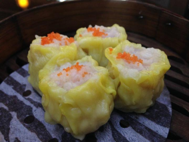 Siew Mai - Another typical HK dimsum must have. Each with a shrimp on top.
