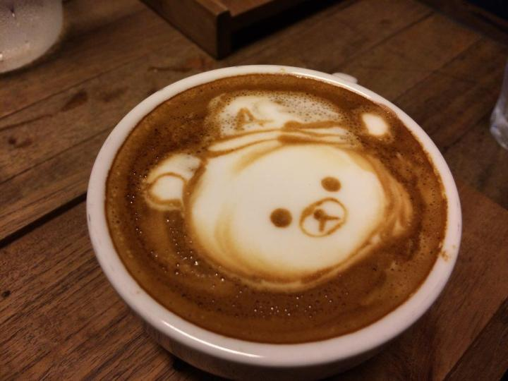 A request from a friend for Rilakkuma picture on it. Sometimes requests cannot be fulfilled due to peak hours.