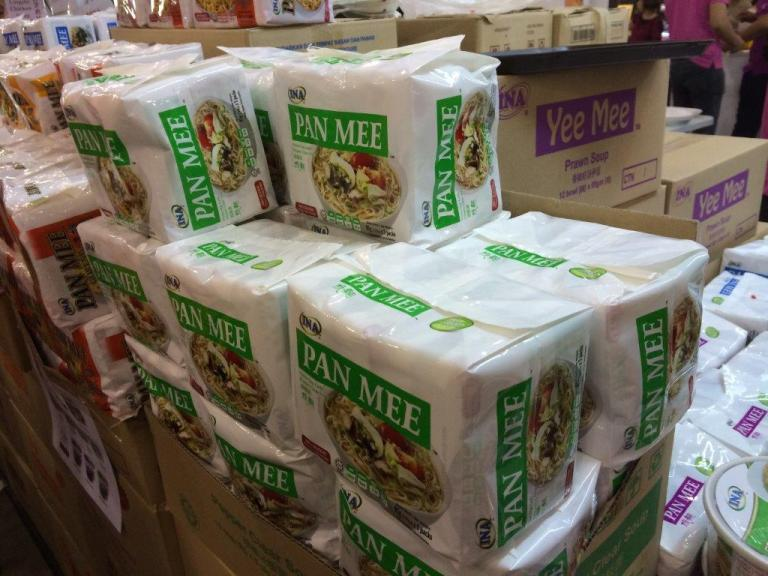 Instant Ban Mian! In 4 flavours. 4 packs for $10. Direct factory.