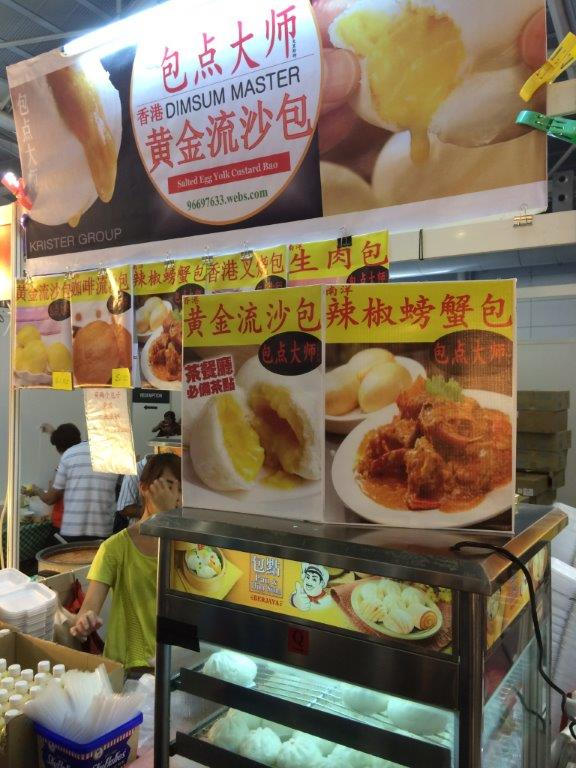 Wah this one fierce... Chilli crab pau... Never try cos a lot of food already!