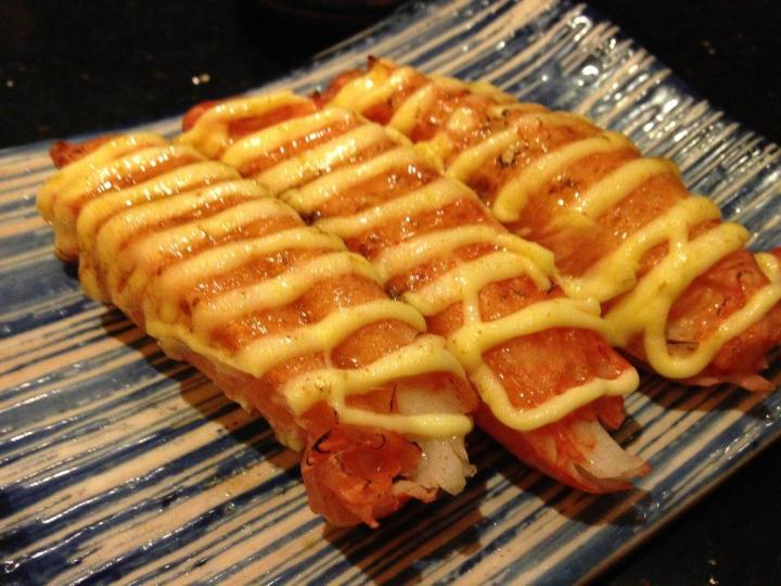 Crabstick Sushi - This is free with one of the orders!