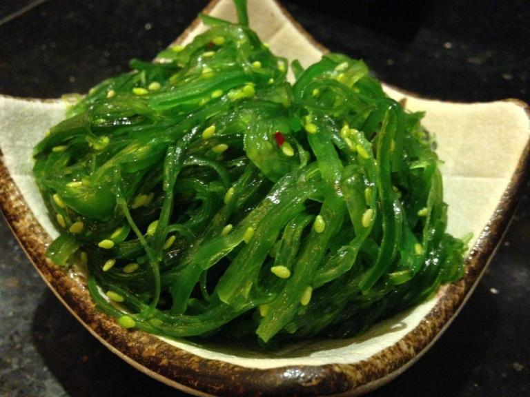 Sea-grass RMB12 - Love this, my only source of 'veg' for the night. Available in supermarkets also.