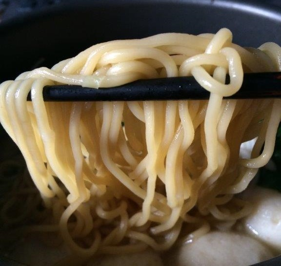 Looks like real fresh ramen.
