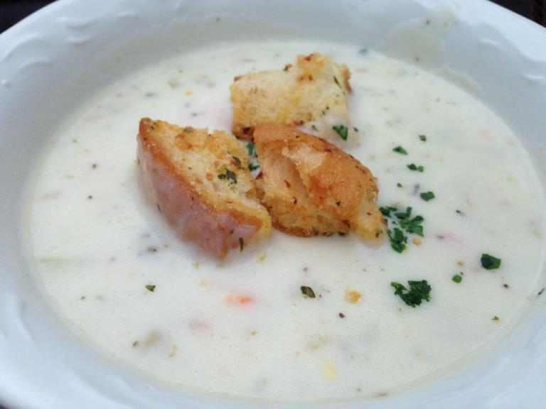 Clam Chowder... like having tasteless cream