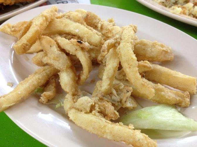 Deep Fried Squid - This is addictive!