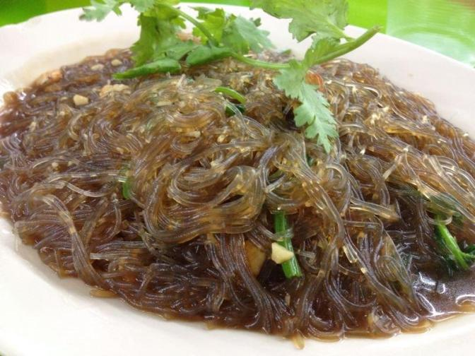 Fried Vermicelli - Not like the dry one I had in mind but quite tasty.