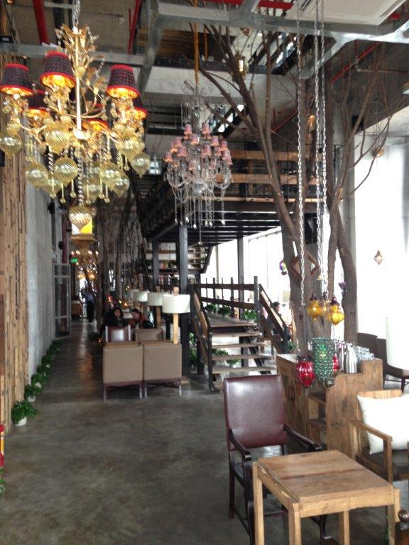Very industrial look with a mezzanine and 3rd floor. Renovation must have costed an arm and a leg...