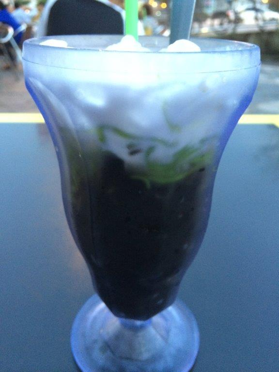 Some jelly drink which is basically our chendol... Can skip.