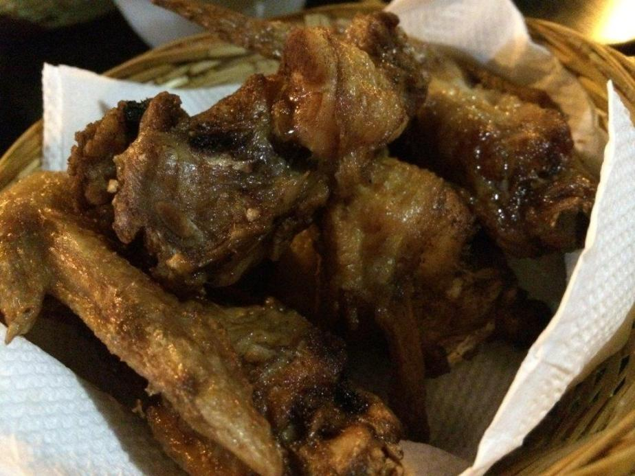 Fried Chicken Wings $5.00 - Surprisingly quite affordable and pretty yummy.