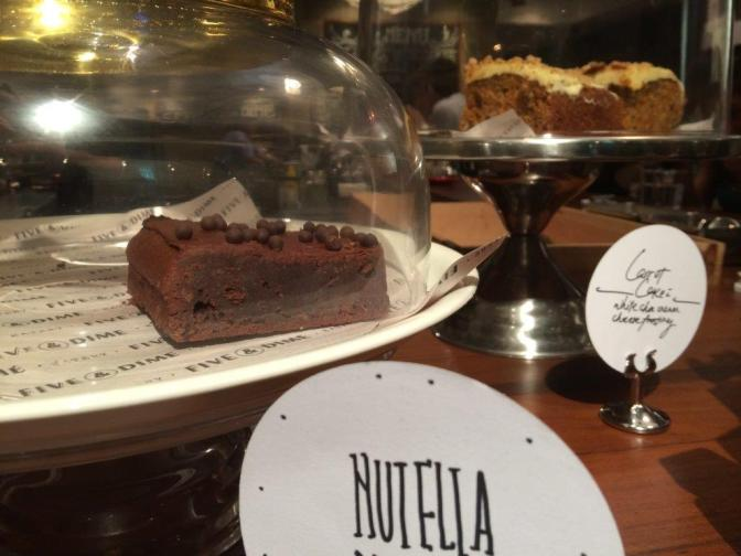 The Nutella tart looked damn good but I like Carrot Cakes more...