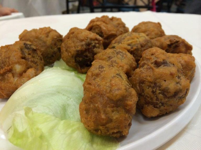 Minced Prawn Fritter (虾枣) $12 - This one is pretty good. Loads of filling inside.