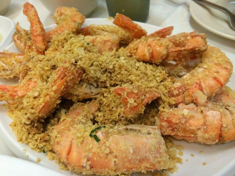 Cereal Prawn $25 - Delicious and a lot. One of the must order.