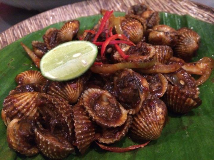 Sambal cockles, not bad.