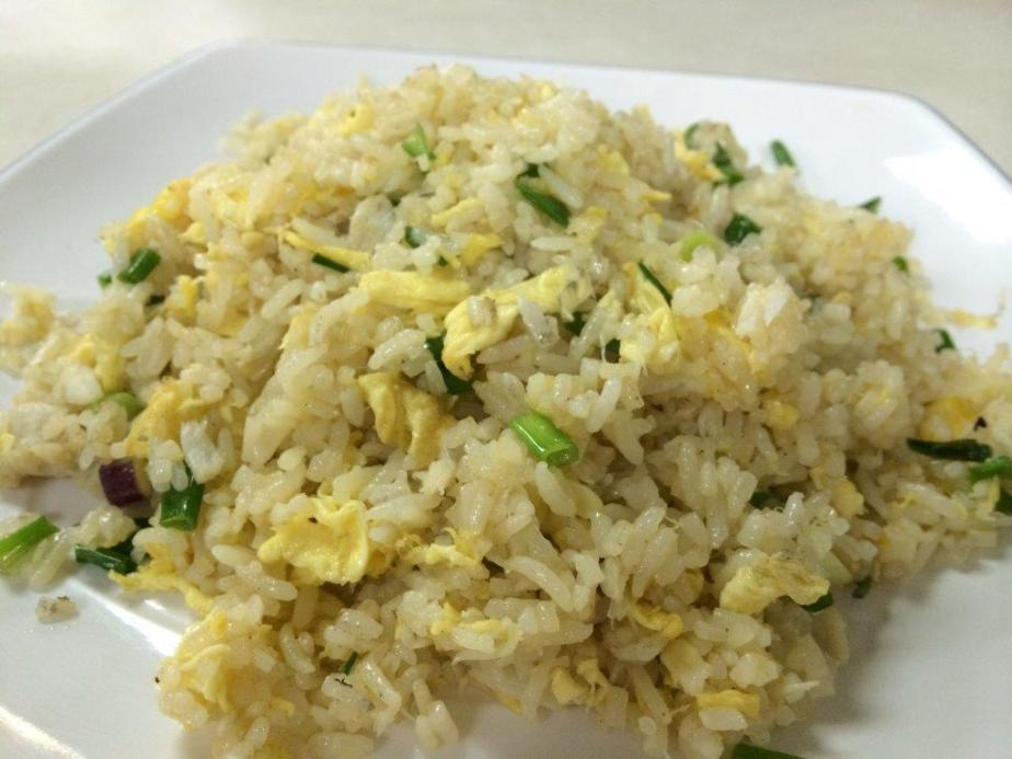Crab Meat Fried Rice $6. Very nice, fragrant and one plate is not enough!