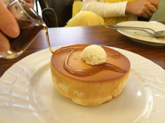 Pancake Souffle Style $9.80 - It's alright only, nothing to shout about.